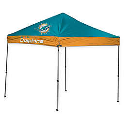 NFL Miami Dolphins Straight Leg 9-Foot x 9-Foot Canopy with Case