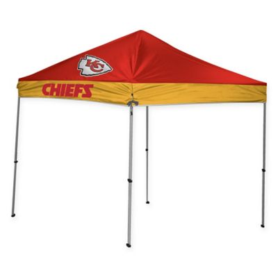 Nfl Kansas City Chiefs Straight Leg 9 Foot X 9 Foot Canopy