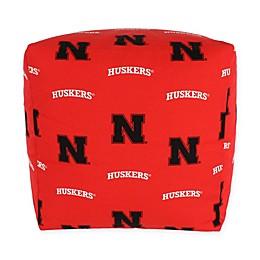 University of Nebraska Cube Cushion