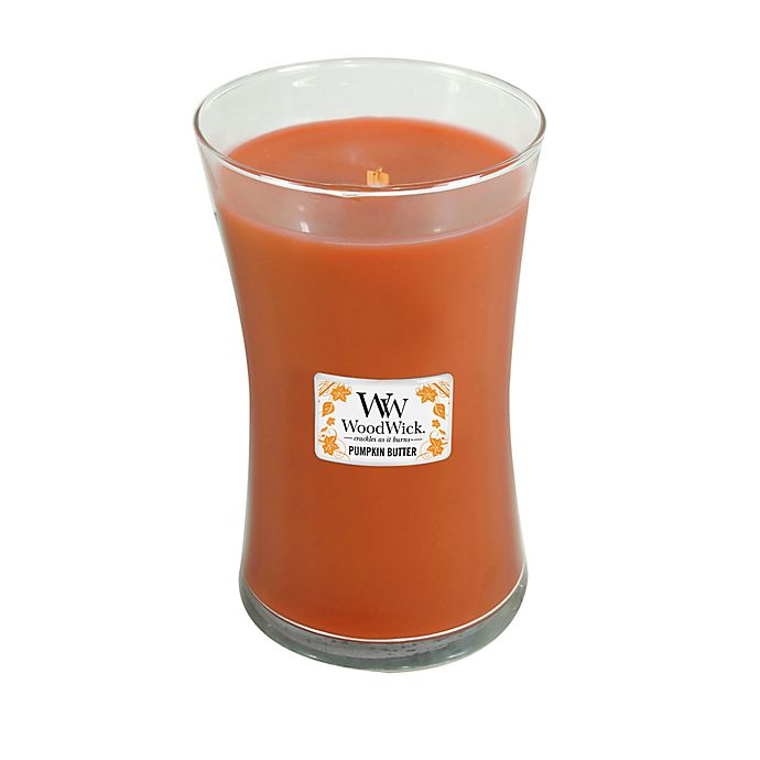 Alternate image 1 for WoodWick® Pumpkin Butter Large Jar Candle