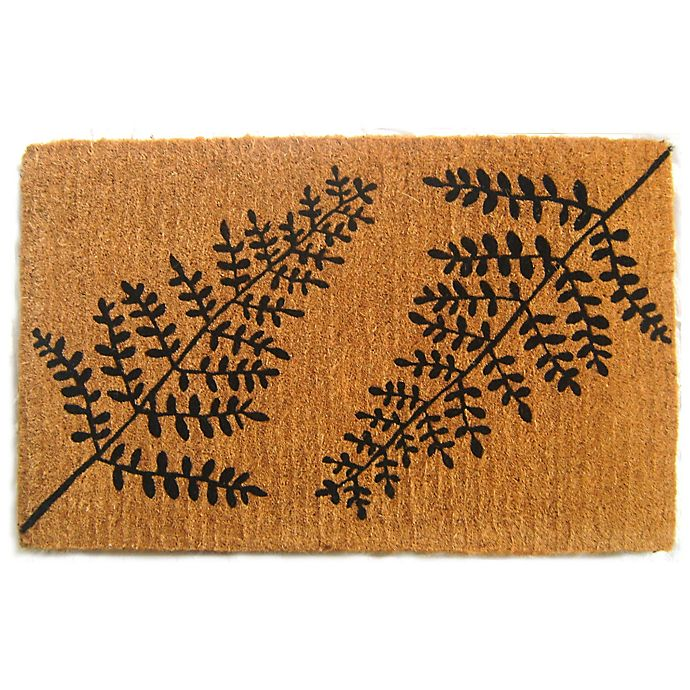 Alternate image 1 for Nature by Geo Crafts Imperial Fern Door Mat
