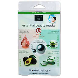 Earth Therapeutics® K-Beauty Facial Care 5-Pack Essential Beauty Masks