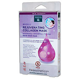 Earth Therapeutics® K-Beauty Facial Care 5-Pack Rejuvenating Collagen Mask