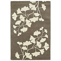 Kaleen Melange Flower Cutouts 8-Foot x 10-Foot Area Rug in Grey
