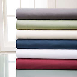 Winter Nights Cotton Flannel Solid Sheet Set