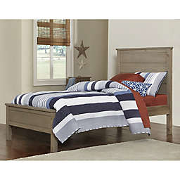Hillsdale Highlands Twin Alex Bed in Driftwood