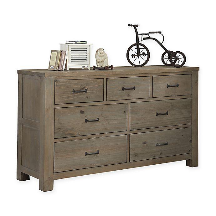 Alternate image 1 for Hillsdale Highlands 7-Drawer Dresser