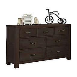 Hillsdale Highlands 7-Drawer Dresser in Espresso