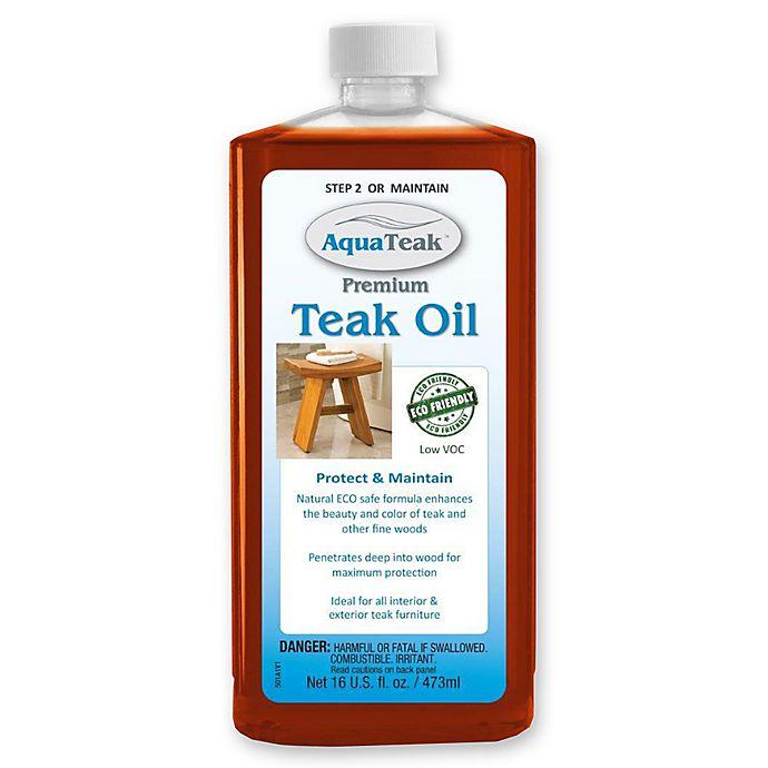16 Oz Teak Oil Bed Bath Beyond