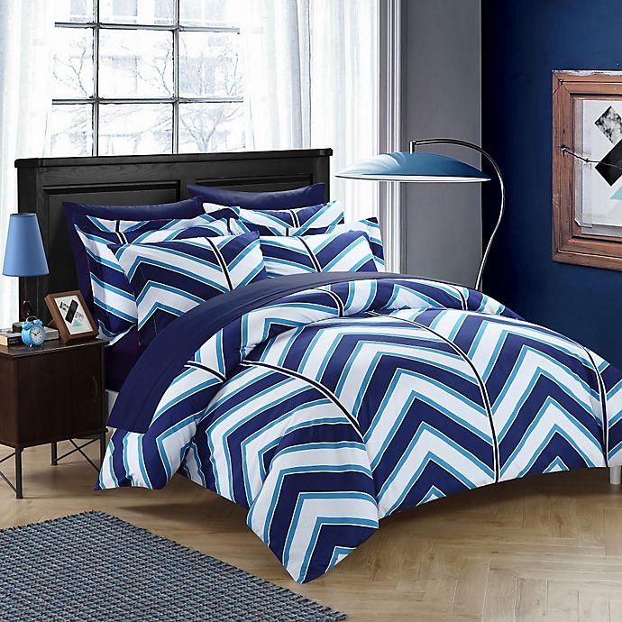 Alternate image 1 for Chic Home Aloretta Reversible Comforter Set