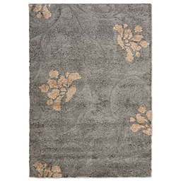 Safavieh Florida Shag Collection Smoke & Beige 8' x 10' Rectangle Rug