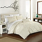Chic Home Salvatore King Duvet Cover Set in Beige
