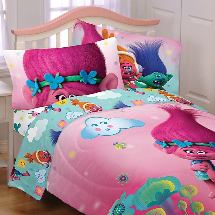 Trolls Hugs Sheet Set Bed Bath And, Trolls Queen Bedding