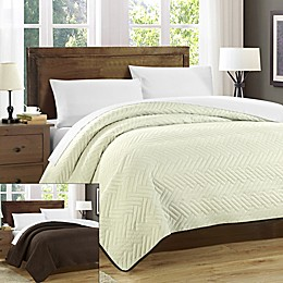 Chic Home Milanese Reversible Quilt Set