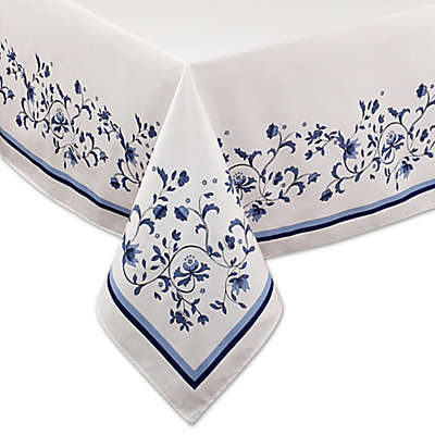 Port Merion by Avanti Blue Portmeirion Tablecloth