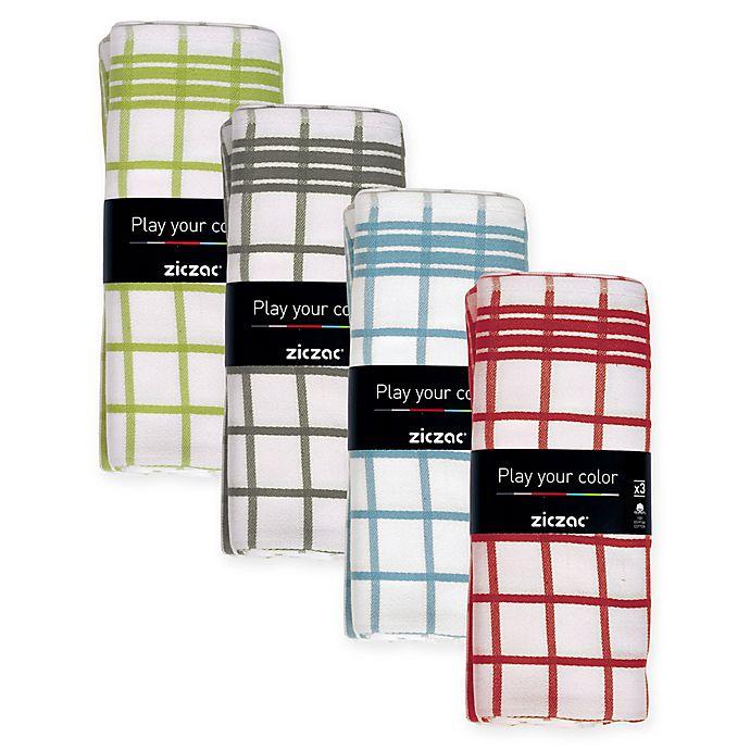 Kitchen Bath Beyond: Ziczac Checkmate Kitchen Towel