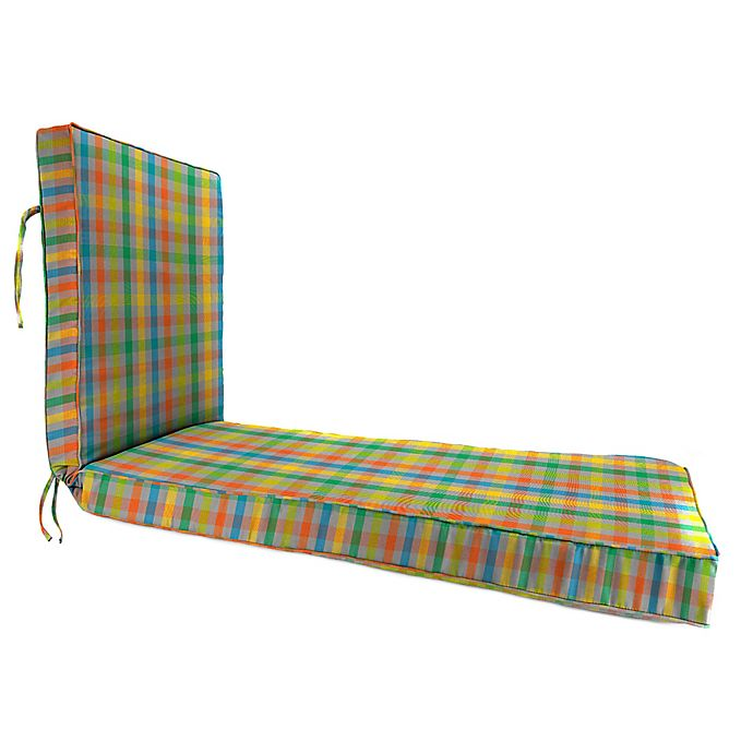 Alternate image 1 for Print 80-Inch x 23-Inch Chaise Lounge Cushion in Sunbrella® Connect Fusion