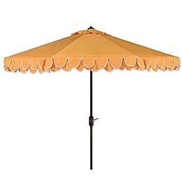 Safavieh UV Resistant Elegant 9-Foot Valance Umbrella