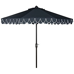 Safavieh UV Resistant Elegant 9-Foot Valance Umbrella