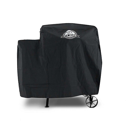 Alternate image 1 for Pit Boss 340 Custom-Fitted Grill Cover in Black