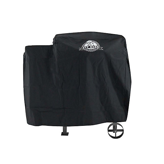 Alternate image 1 for Pit Boss 700FB Custom-Fitted Grill Cover in Black