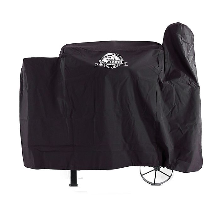 Alternate image 1 for Pit Boss 820FB Custom-Fitted Grill Cover in Black