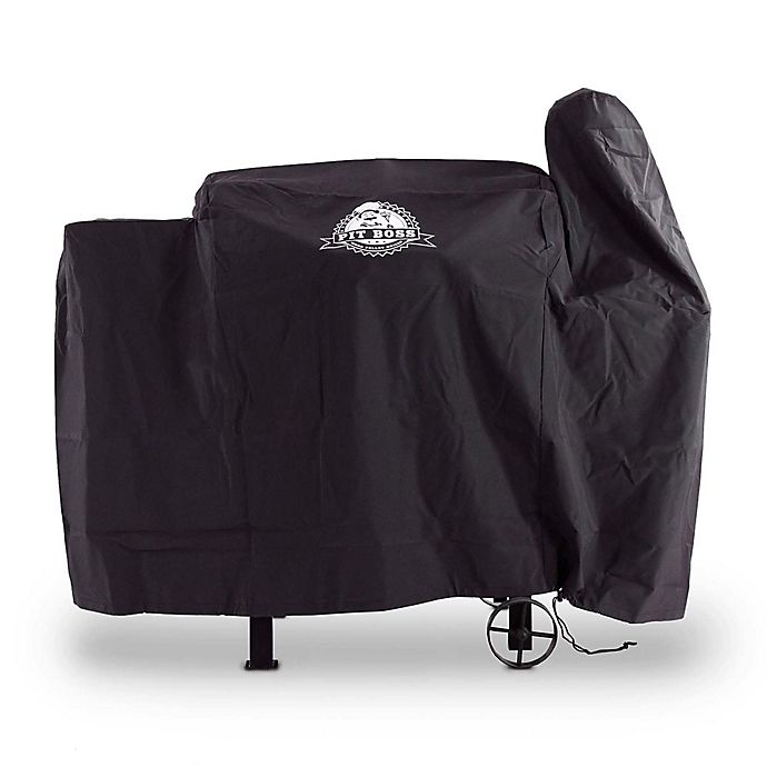 Alternate image 1 for Pit Boss 820 Custom-Fitted Grill Cover in Black