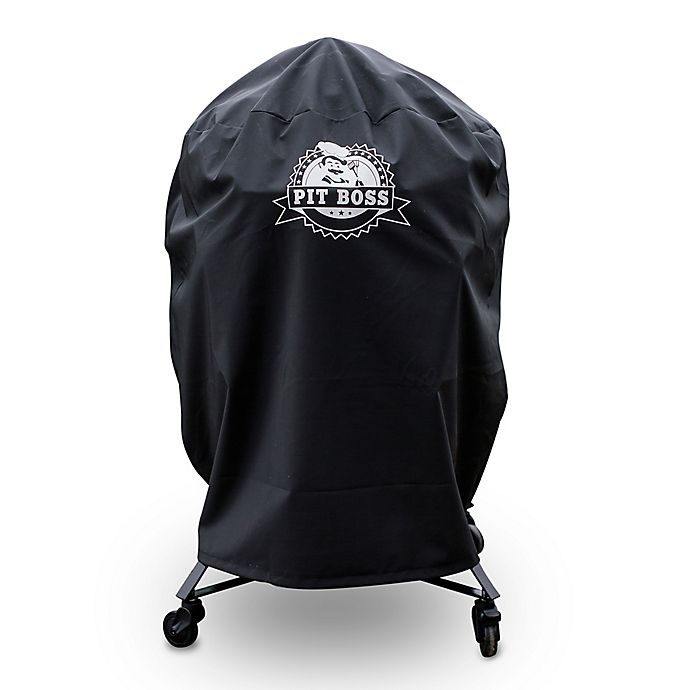 Alternate image 1 for Pit Boss K22 Custom-Fitted Grill Cover in Black