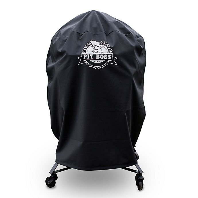 Alternate image 1 for Pit Boss K24 Custom-Fitted Grill Cover in Black