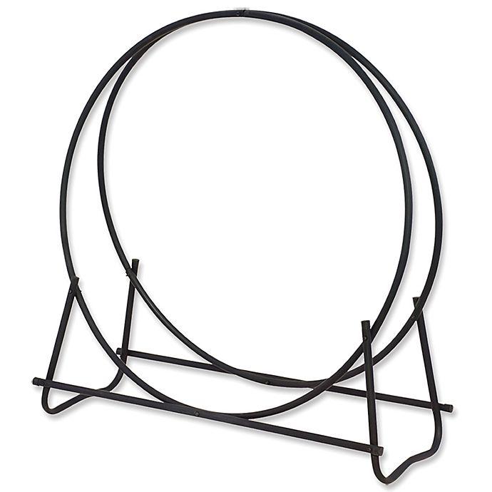 Alternate image 1 for UniFlame® 40-Inch Log Hoop in Black