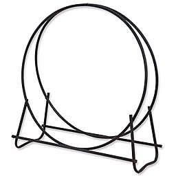 UniFlame® 40-Inch Log Hoop in Black