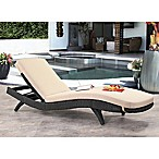 Abbyson Living® Marcelle Cushioned Adjustable Chaise in Espresso