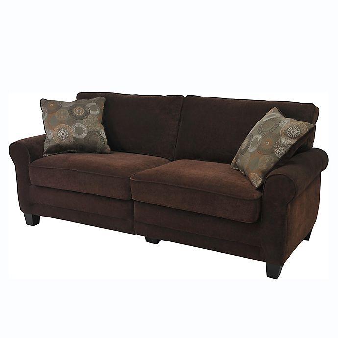 Alternate image 1 for Serta RTA Copenhagen Fabric Sofa