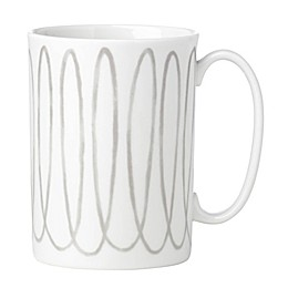 kate spade new york Charlotte Street™ West Mug in Grey