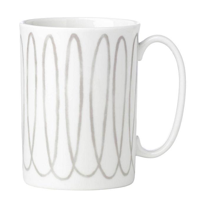 Alternate image 1 for kate spade new york Charlotte Street™ West Mug in Grey