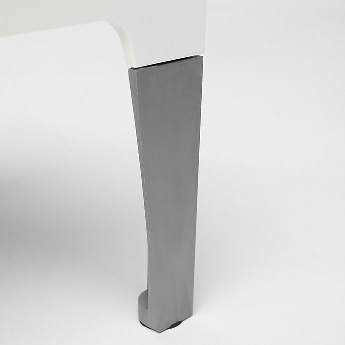 Alternate image 1 for Sterling Risers® 6-Inch Modern Legs in Silver (Set of 4)