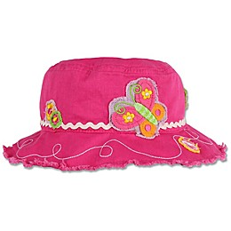 Stephen Joseph® Butterfly Bucket Hat in Pink