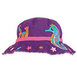 Stephen Joseph® Seahorse Bucket Hat in Purple