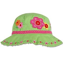Stephen Joseph® Flower Bucket Hat in Green