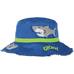 Stephen Joseph® Shark Bucket Hat in Blue