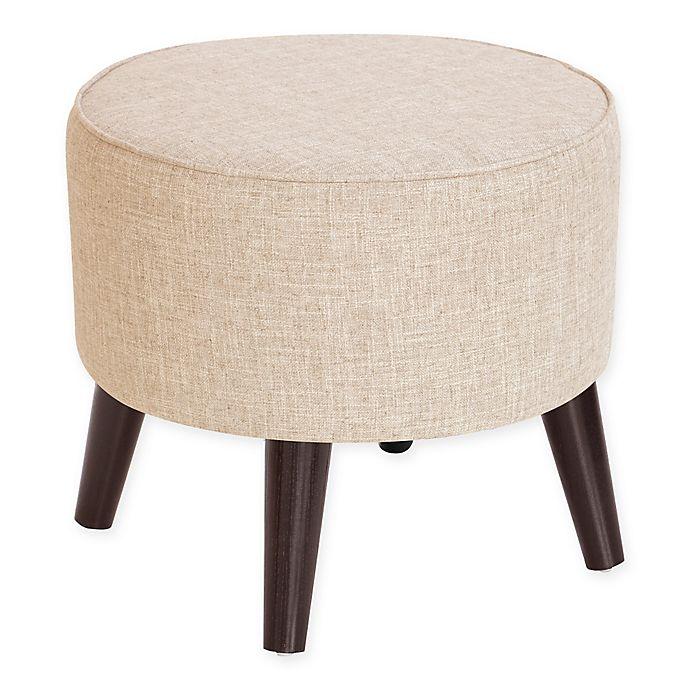 Alternate image 1 for Skyline Furniture Brooker Round Ottoman