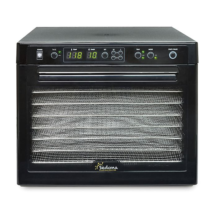 Alternate image 1 for Tribest® Sedona Classic 9-Tray Digital Dehydrator with Stainless Steel Trays