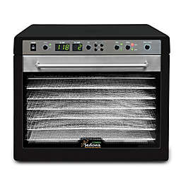 Tribest® Sedona Combo Digital Dehydrator with 9 Stainless Steel Trays in Black
