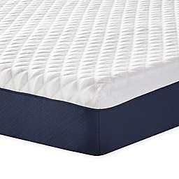 Therapedic® 10-Inch Firm Memory Foam Mattress in White/Blue