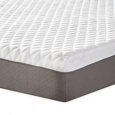 Therapedic® 10-Inch Plush Memory Foam Mattress in White/Taupe