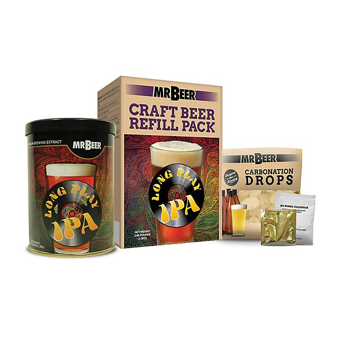 Alternate image 1 for Mr. Beer Long Play IPA Refill Kit