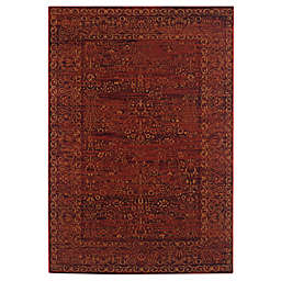 Safavieh Serenity Collection Bianca 5-Foot 1-Inch x 7-Foot 6-Inch Area Rug in Ruby/Gold