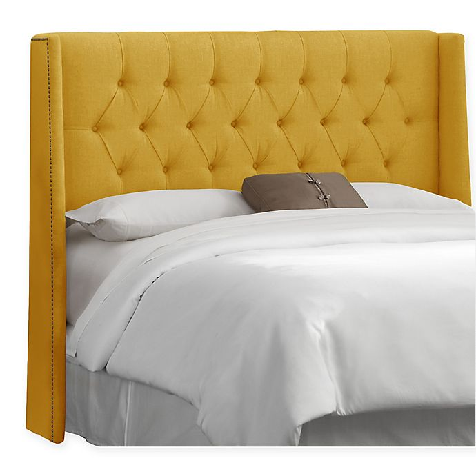 Skyline Furniture Abbie Wingback Headboard Bed Bath And Beyond Canada