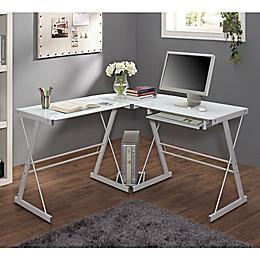 Forest Gate Harbor Modern Corner Computer Desk