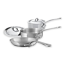 Mauviel 1830® M'cook 5-Piece Stainless Steel Cookware Set